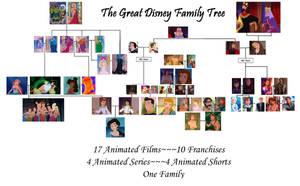 The Great Disney Family Tree