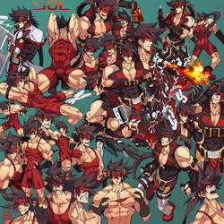 Sol Badguy Compilation by na-insoo
