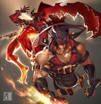Sol Badguy + Dragon Install
