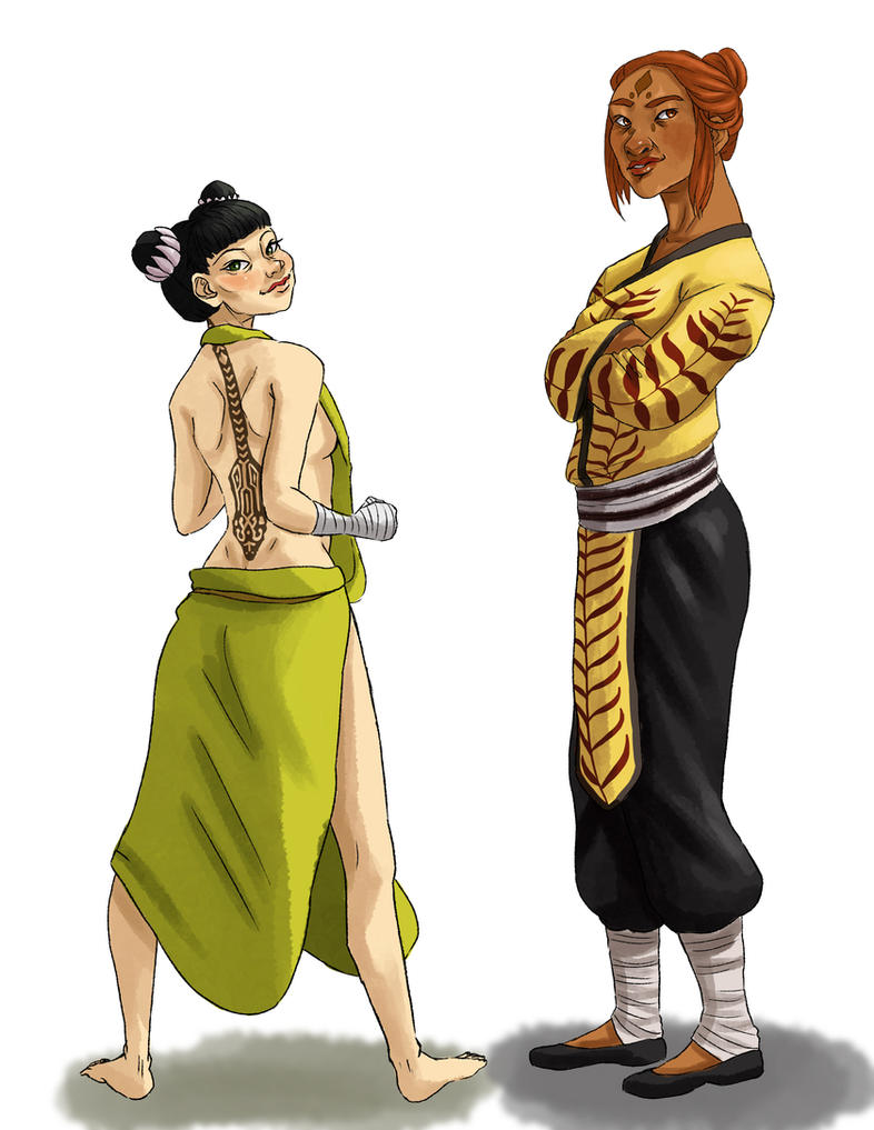 Human Tigress and Viper by fUnKyToEs on DeviantArt