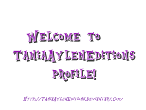 TaniaAylenEditions's Profile Picture