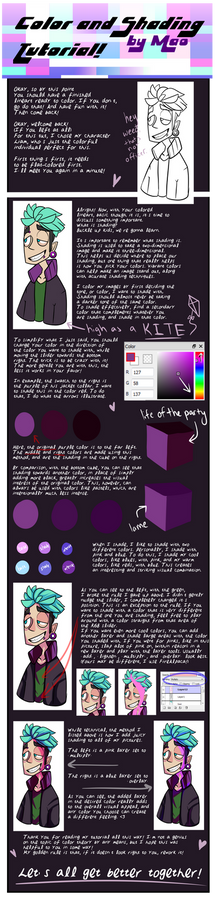 Juicy Colors and You - A Tutorial by Mao