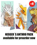 Negger Anthro image pack pre order! by Crisjofreart