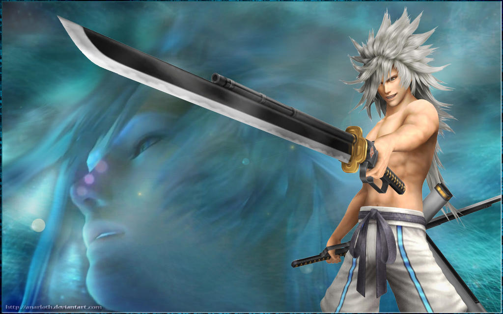 Wallpaper FF VII DoC - Weiss by Anarloth