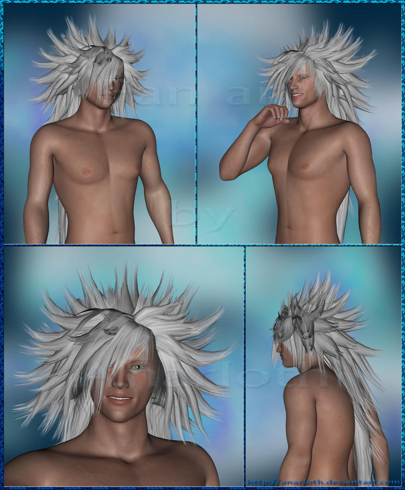 FF VII DoC - Weiss the Immaculate - Daz-Blender3D by Anarloth