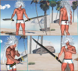FF VII DoC - Weiss the Immaculate at beach - 2015