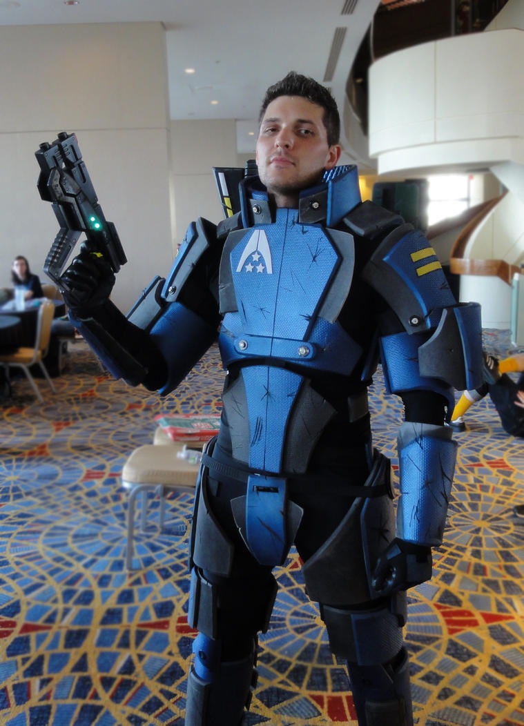 Systems Alliance Marine Armor - Mass Effect by Frijoleluna