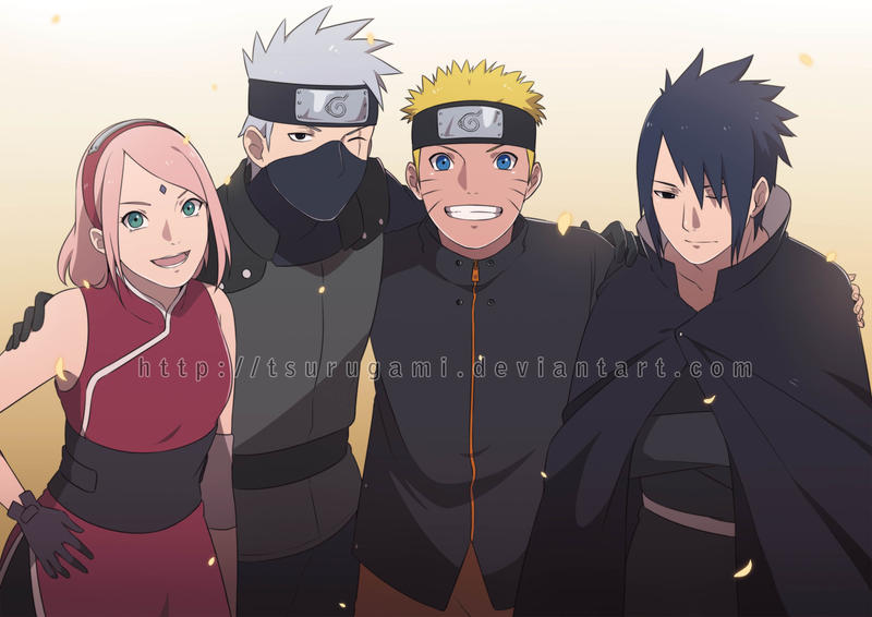 Team 7 the last reunion by tsurugami on deviantart for Wohnzimmertisch team 7