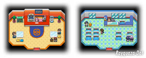 Pokemon Center and Pokemart Revamp