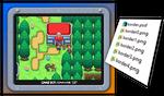 Pokemon Order and Chaos Screen Borders