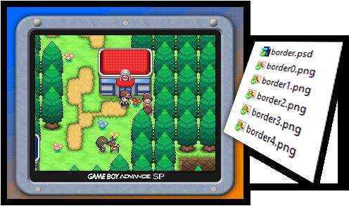 Gameboy Advance Game Boy GBA Pokemon Order /& Chaos Customized