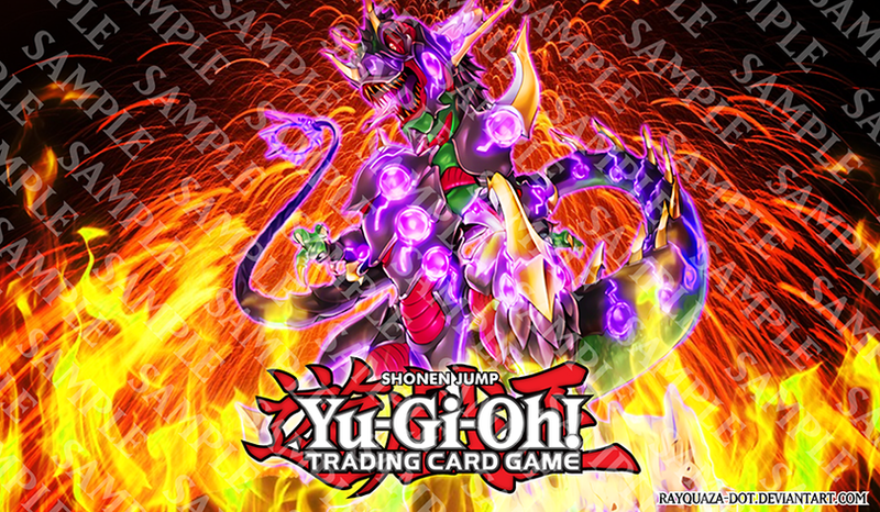 Ultimate Conductor Tyranno Custom Playmat by Rayquaza-dot