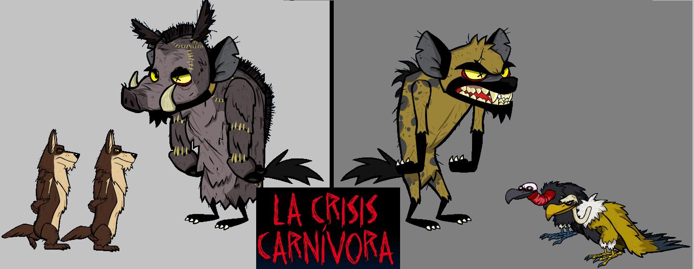 crevel la hiena / willy el jabai by elcorpus