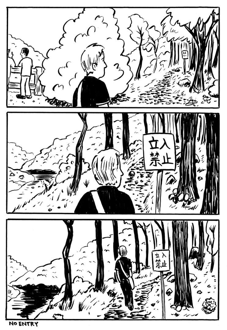 Alone in Kyoto page twenty five by naha-def