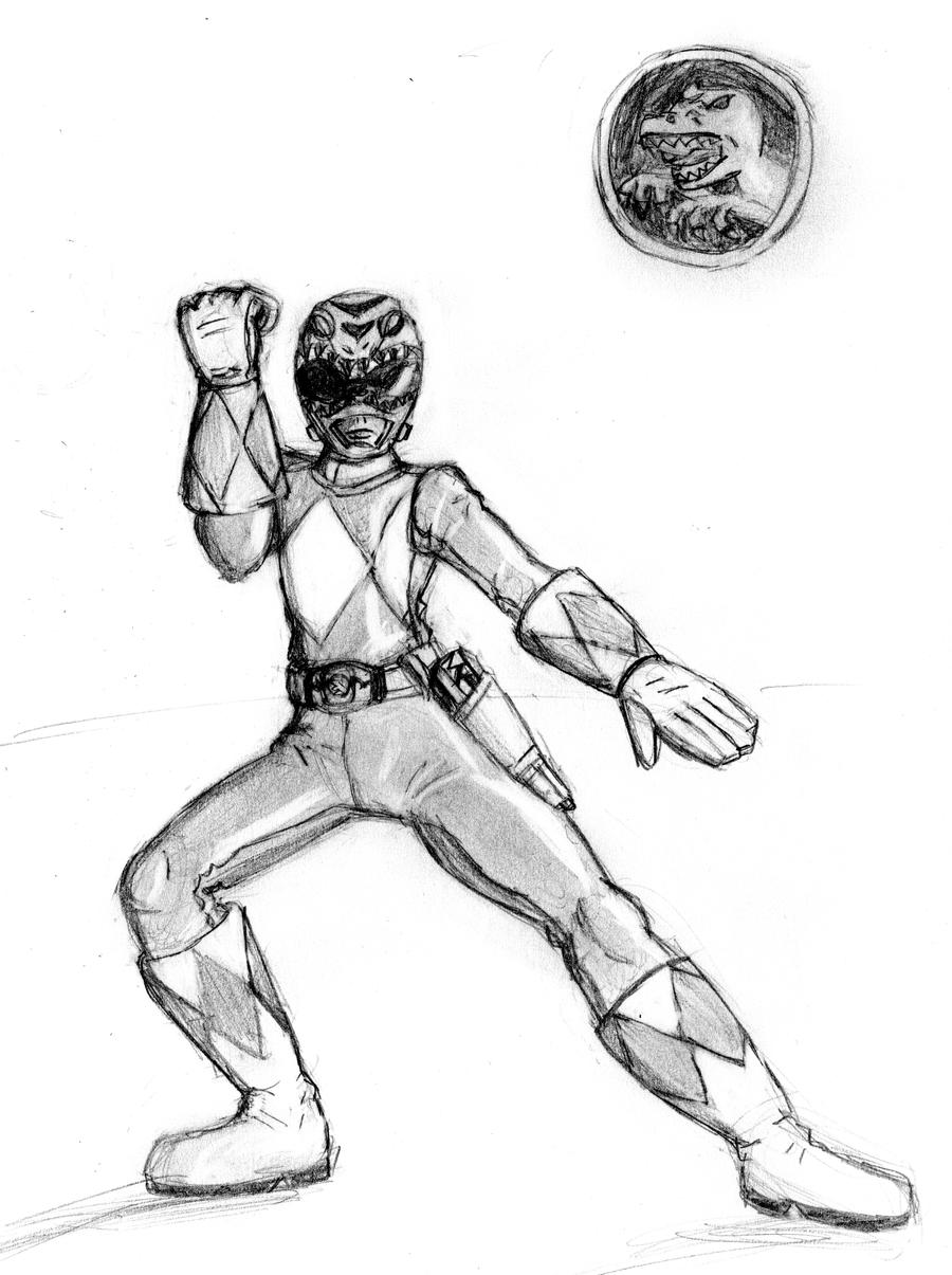 Mighty Morphin Gray Ranger by TRice01 on DeviantArt