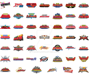 All Super Sentai Logos (to date)
