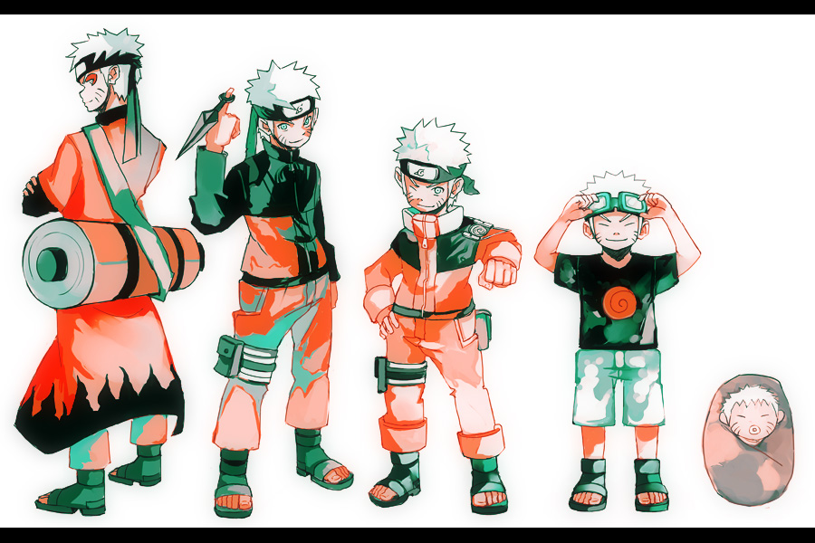 Growth naruto by unhai