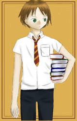 hogwarts student by NieleinM
