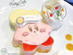 Craving a Custard Kirby by ScythicKitty