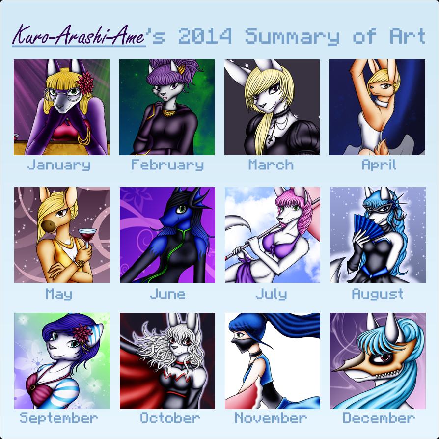 2014 Art Improvement Meme by Kuro-Arashi-Ame