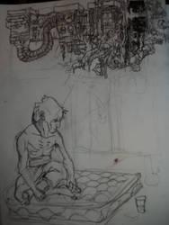 urban sorrow by Shmagmhar10