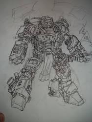 teslapunk power armor prototype by Shmagmhar10