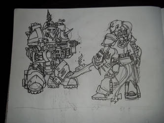some space mercenaries by Shmagmhar10