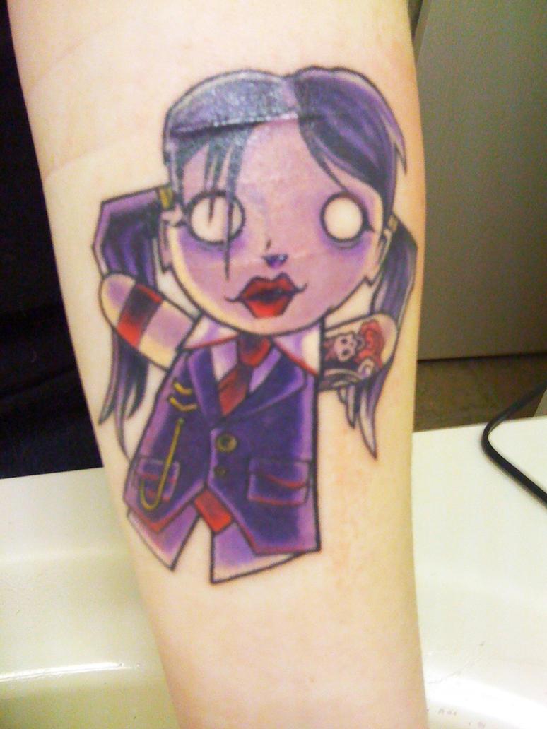 Lynz Inner Forearm Tattoo by
