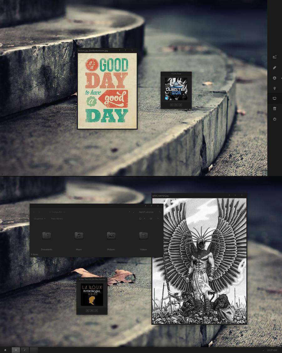 La Oscuridad by givesnofuck