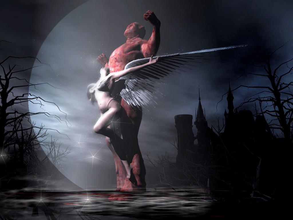 Image Ange Et Demon ange et demonjeanpepe on deviantart