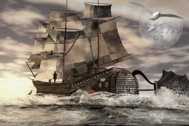 le bateau du monde d ael by jeanpepe