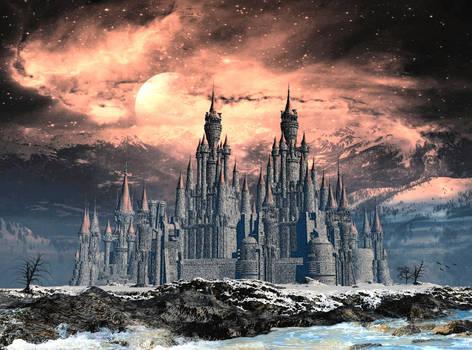 clair de lune sur le chateau