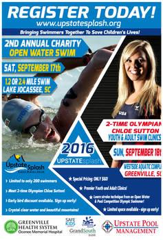 Open Water Swim 2016 Poster