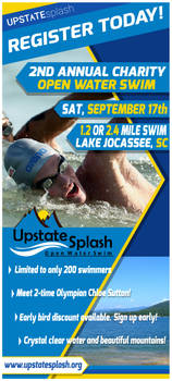 Open Water Swim Rack Card 2016