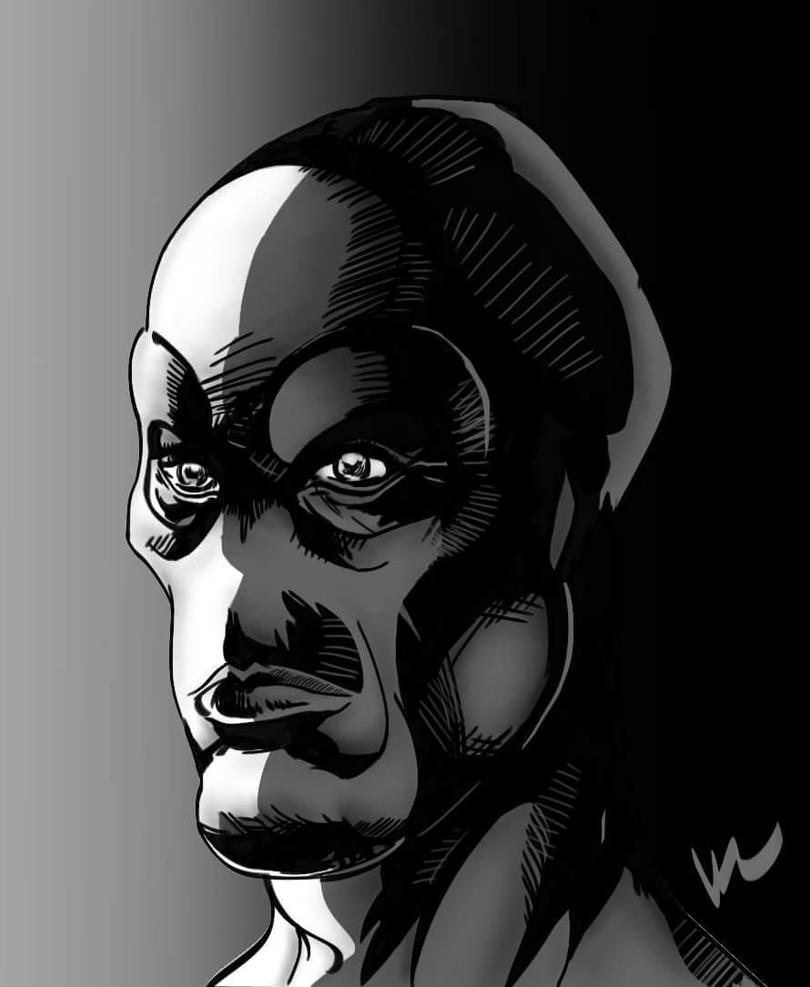 Half face by Harrym32