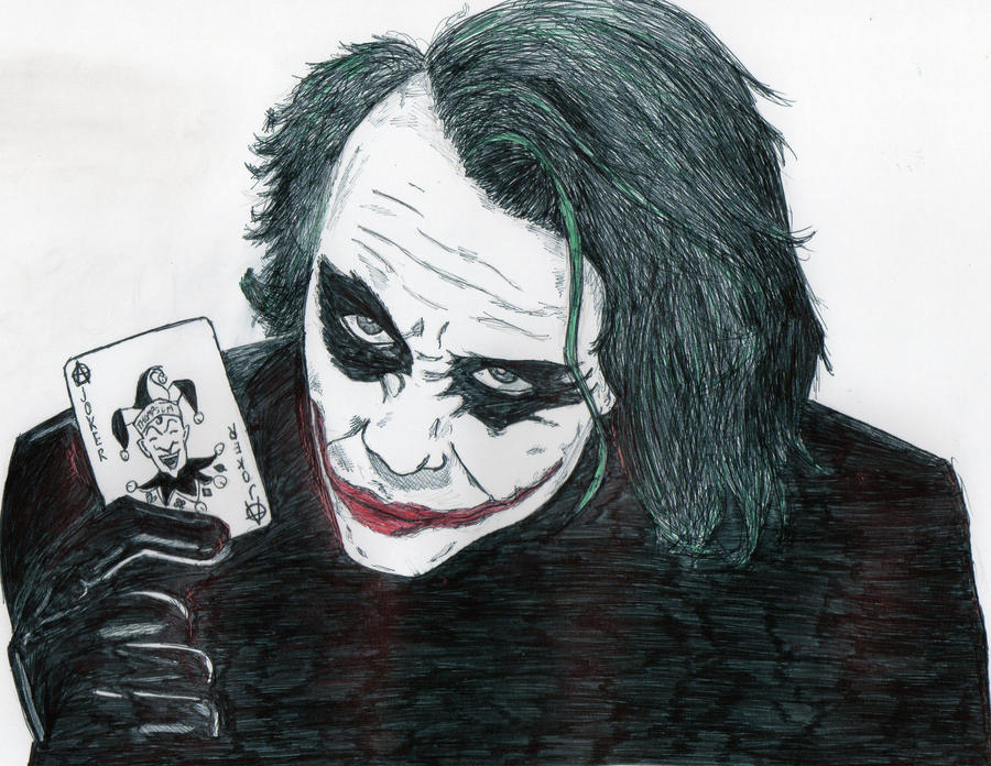 The Joker. by RobotsInReverse
