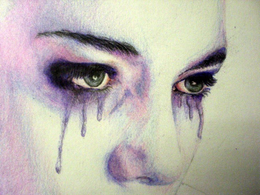 crying eyes   coloured by badgemakesart on deviantart