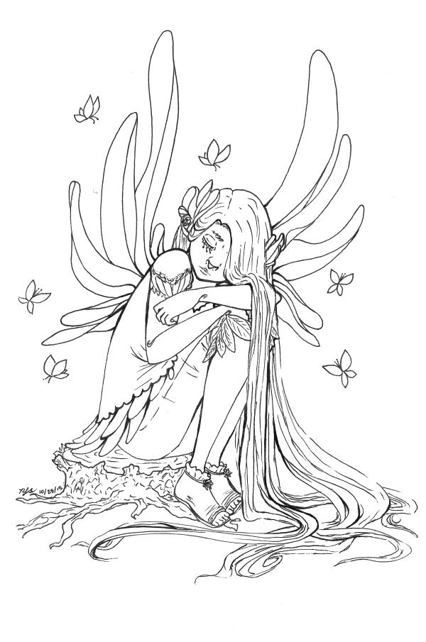 Melancholy Fairy by EmeyTroi