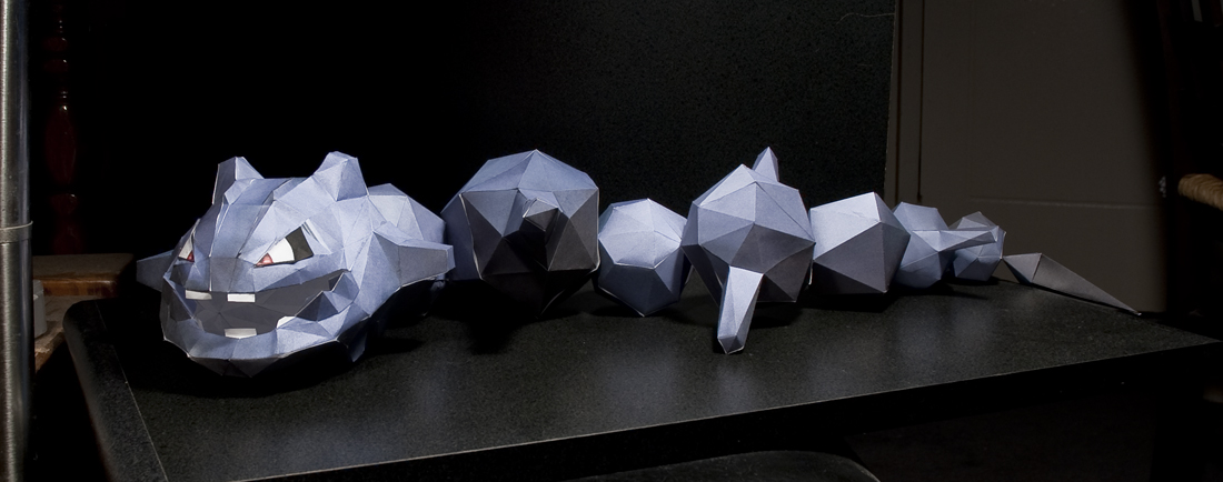 Steelix Papercraft by DarkTailss