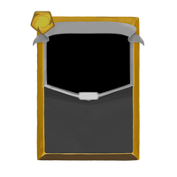 Slay the Spire Card Template (Yellow)