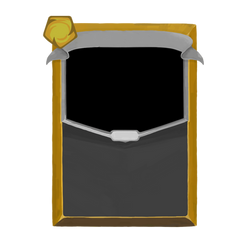 Slay the Spire Card Template (Yellow) by DarkTailss