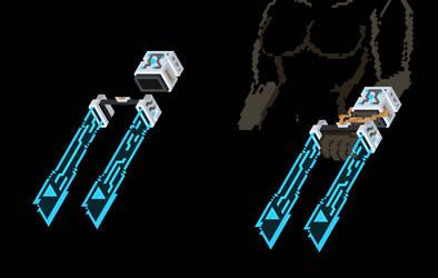 Corpus Laser Claws by DarkTailss