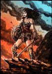Wonder Woman Amazon Warrior godess