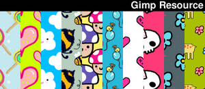 Cuute Patterns by giesdesign