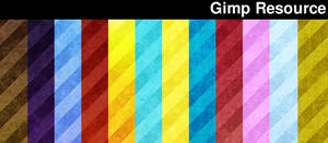 GrungeStripes Gimp patterns by giesdesign