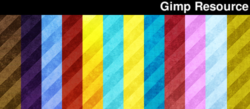 GrungeStripes Gimp patterns by giesdesign