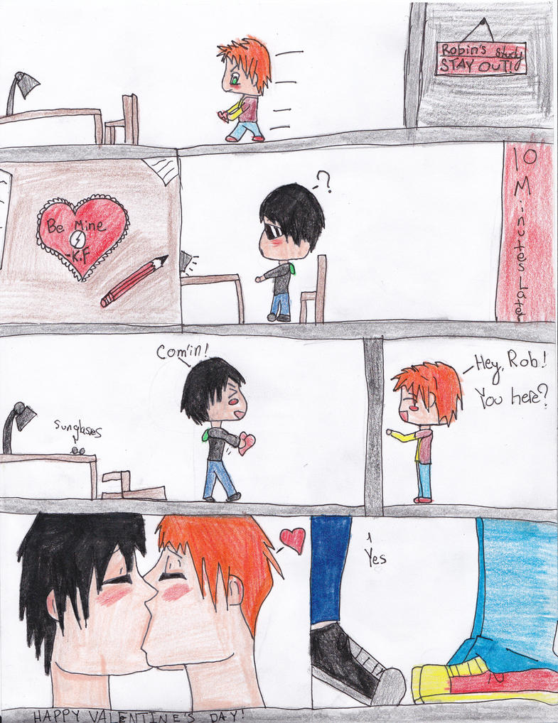Valentines day for Robin and Kid Flash by RavenGreyson1165 on ...