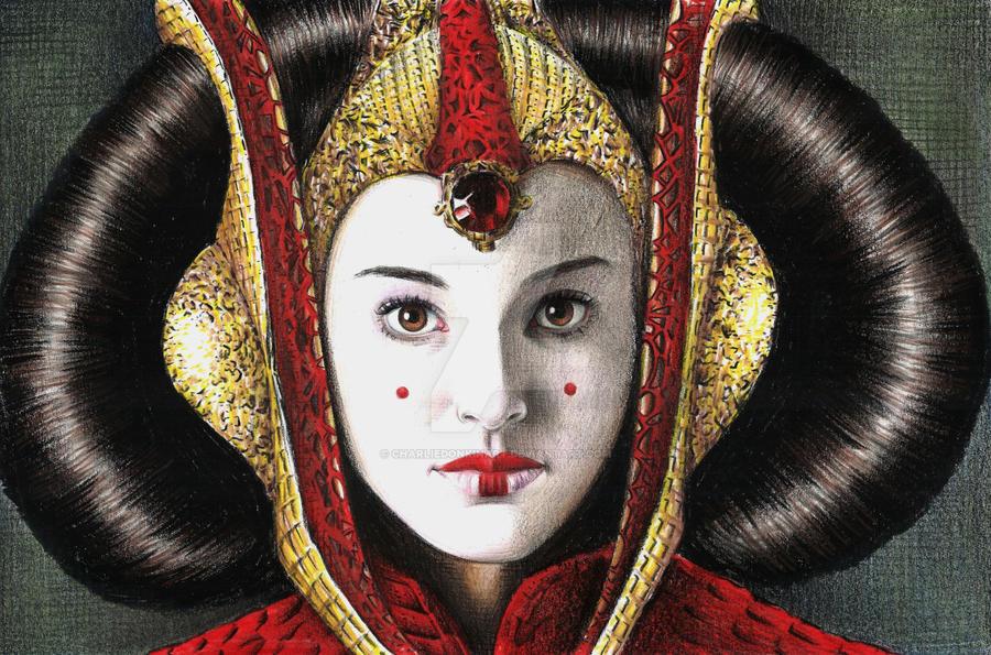 Queen amidala by charliedonkinart on deviantart - Princesse amidala ...