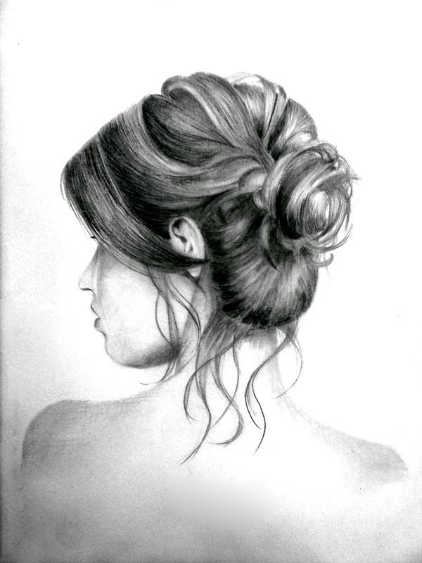 tumblr drawings hair bun tumblr drawings hair bun messy hair messy bun    Tumblr Messy Hair Bun