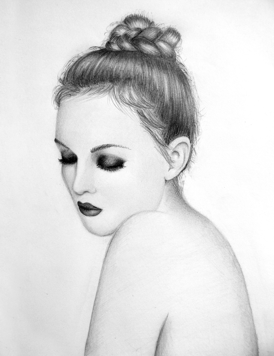 Women sketch photo 29